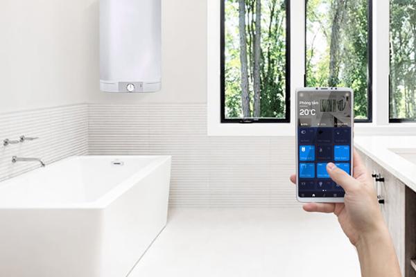 Giải pháp điều khiển bình nóng lạnh thông minh