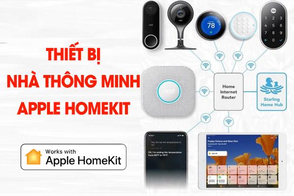 thiết bị nhà thông minh apple homekit